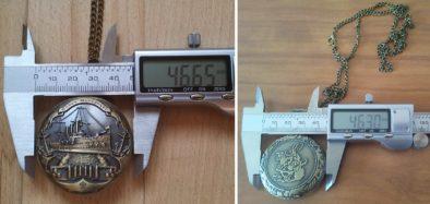 Диаметр часов практически одинаков