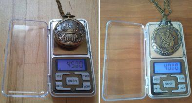 Вес без учета цепочки