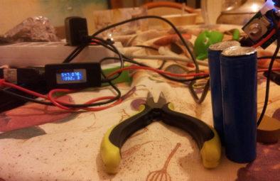 Зарядка с приделанным радиатором