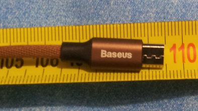 Длина кабеля - 109.5 см